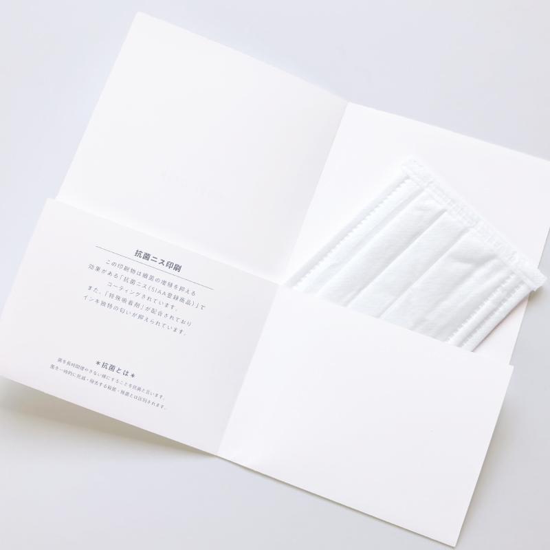 マスクケース slim【抗菌ニス加工 500枚入り】