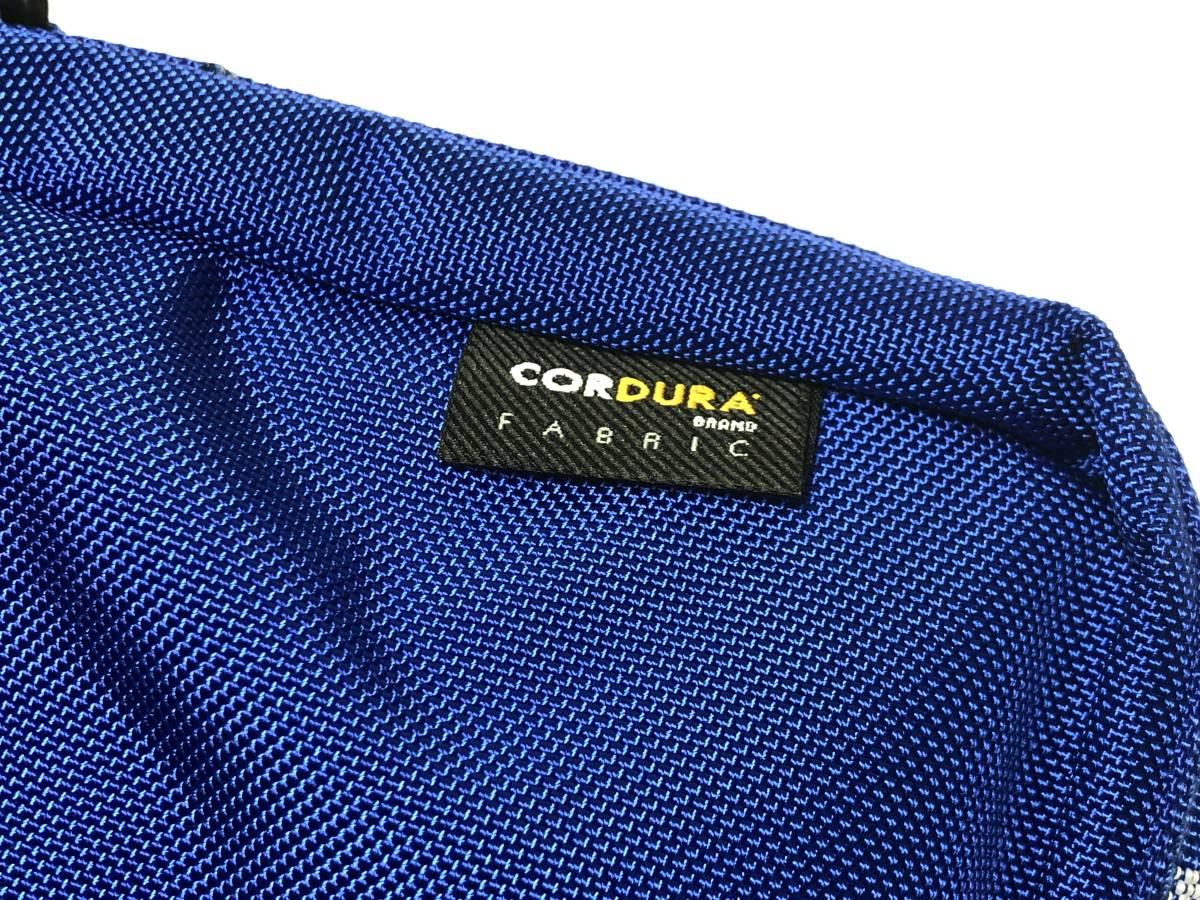 新品未使用 supreme シュプリーム shoulder bag blue ショルダーバッグ ブルー 青 カバン ショルダー 半タグ付き 黒 国内正規品