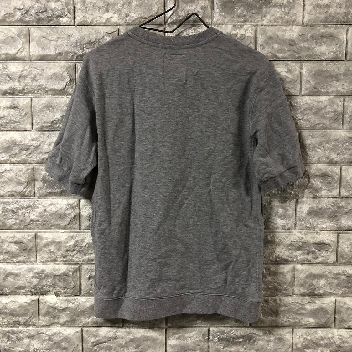 STILL BY HAND スティル バイ ハンド スウェット Tシャツ カットソー グレー サイズ46