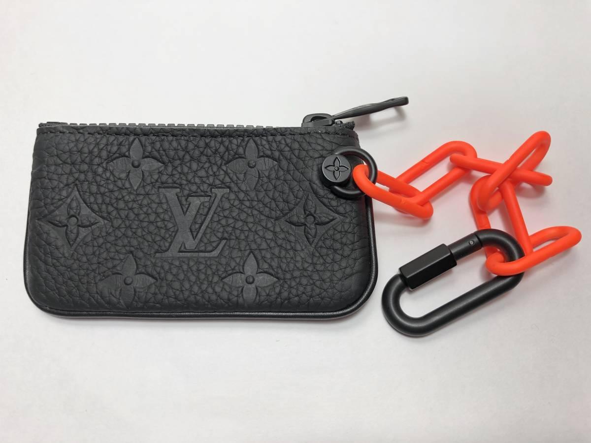 新品 LOUIS VUITTON ルイヴィトン 19ss VIRGIL ABLOH ヴァージルアブロー コインケース M67452 ブラック モノグラム ポシェット・クレ 正規