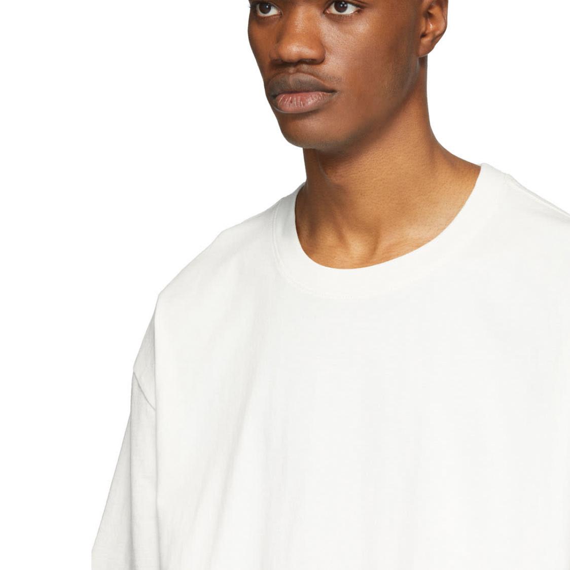 新品 Fear Of God Essentials フェアオブゴッド エッセンシャルズ 【Sサイズ】 バックプリント ロゴ Tシャツ ホワイト FOG