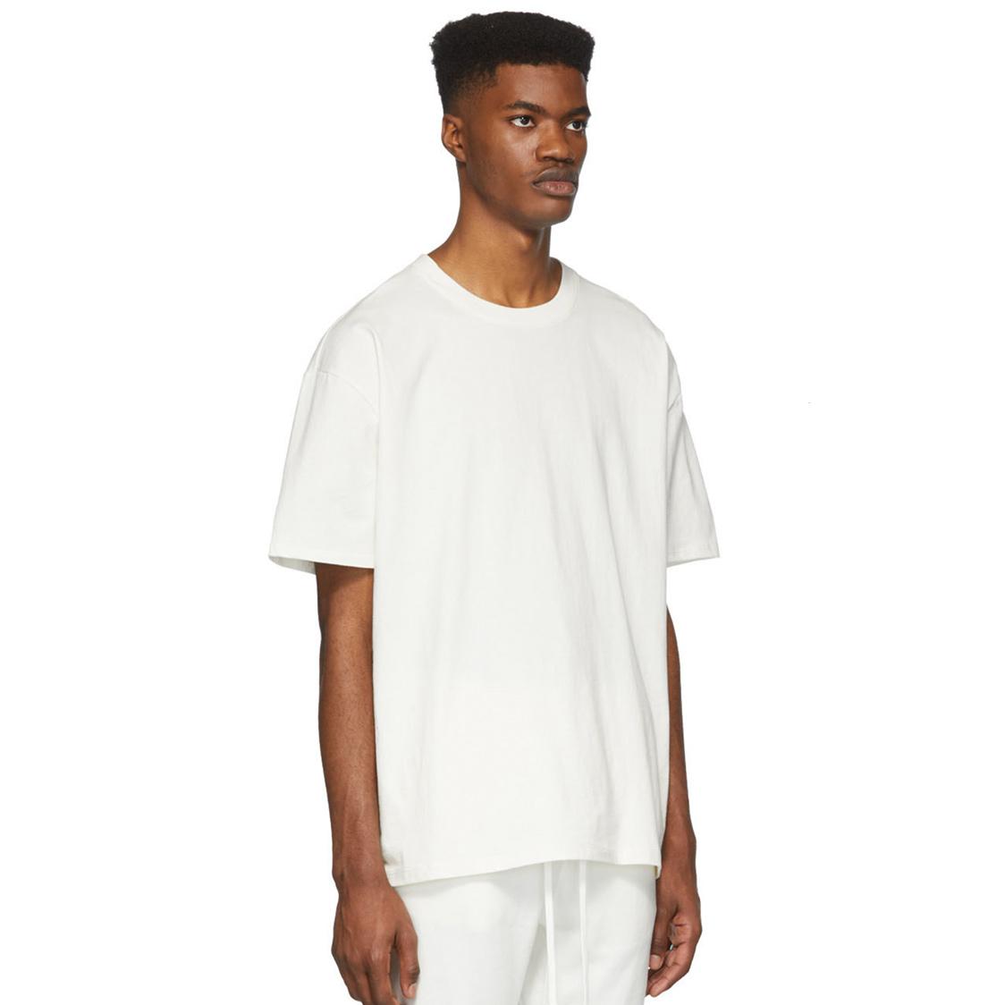 新品 Fear Of God Essentials フェアオブゴッド エッセンシャルズ 【Mサイズ】 バックプリント ロゴ Tシャツ ホワイト FOG