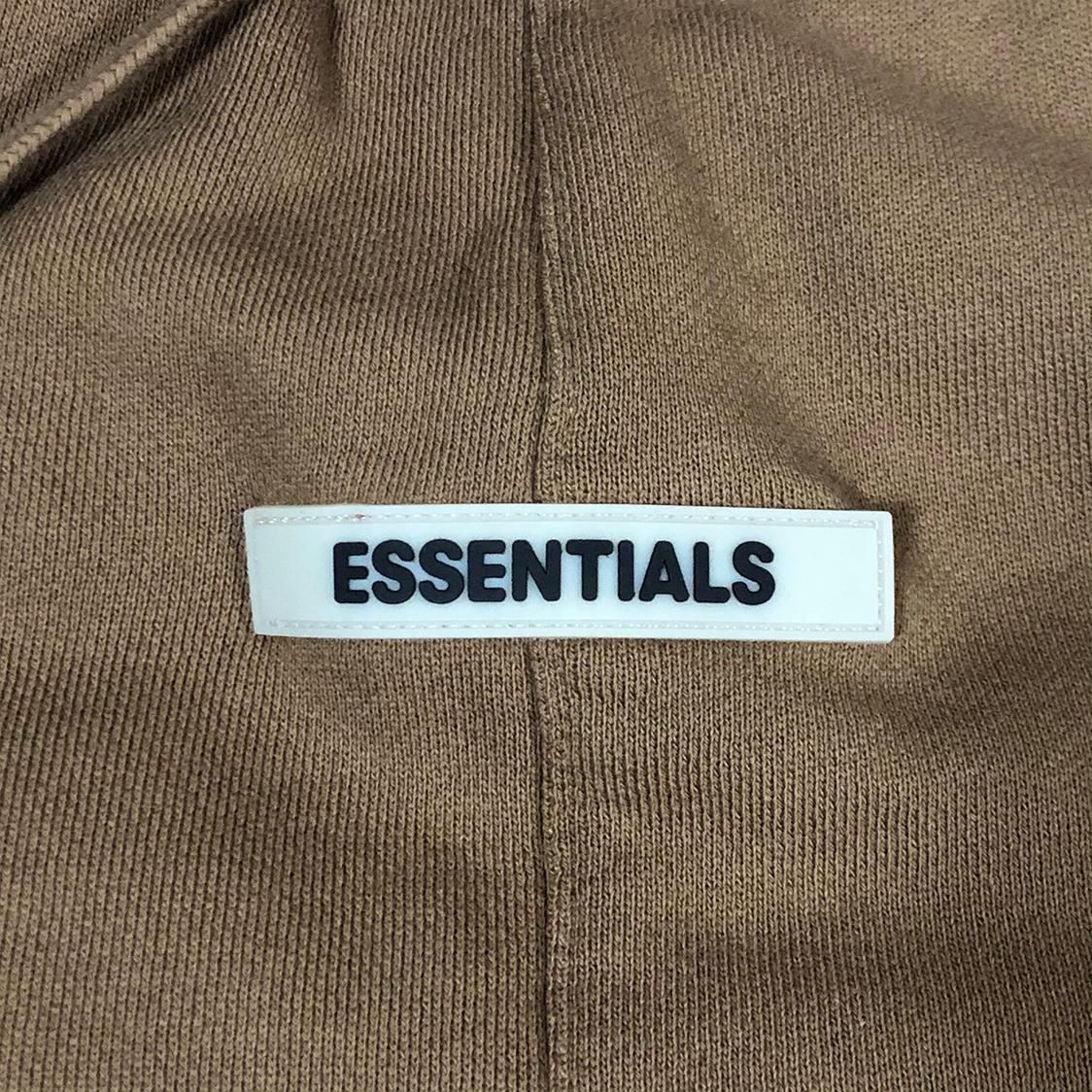 新品 Fear Of God Essentials フェアオブゴッド エッセンシャルズ【XSサイズ】 スウェット ショーツ ハーフパンツ タン FOG