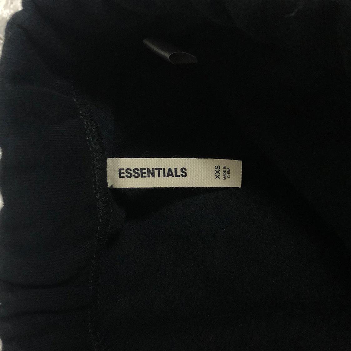 新品【XXSサイズ】FOG Fear Of God Essentials フィアオブゴッド エッセンシャルズ スウェット パンツ ブラック フォグ エッセンシャル【PACSUN購入 正規品】