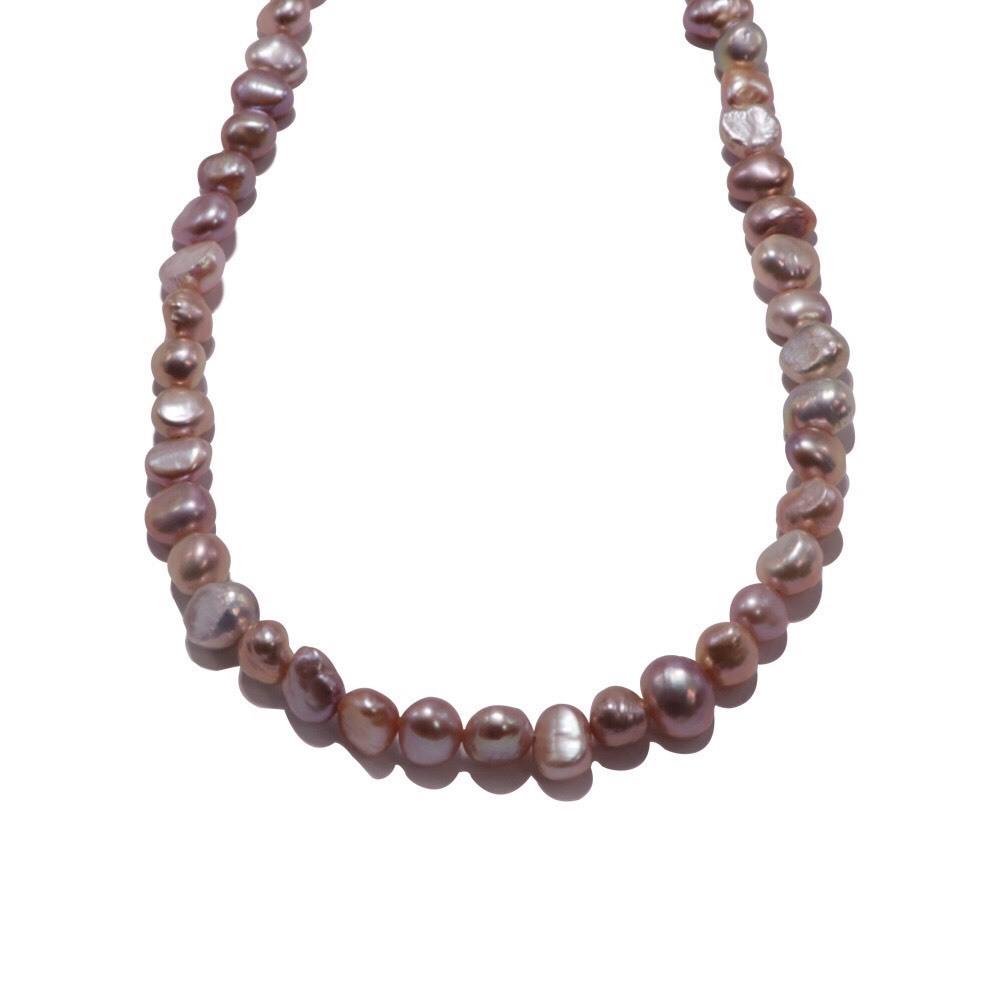 新品 SPARKING スパーキング potato pearl chain necklace purple ポテトパール チェーン ネックレス パープル