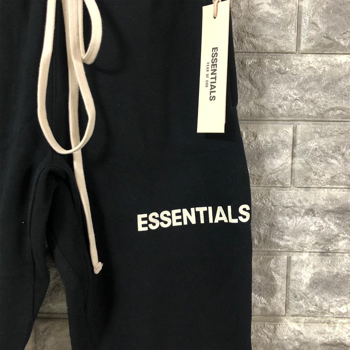 新品【XSサイズ】FOG Fear Of God Essentials フィアオブゴッド エッセンシャルズ スウェット パンツ ブラック フォグ エッセンシャル【PACSUN購入 正規品】