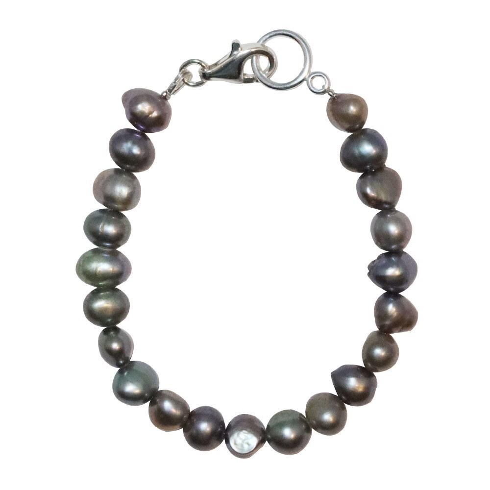 新品 SPARKING スパーキング gray pearl bracelet グレーパール ブレスレット