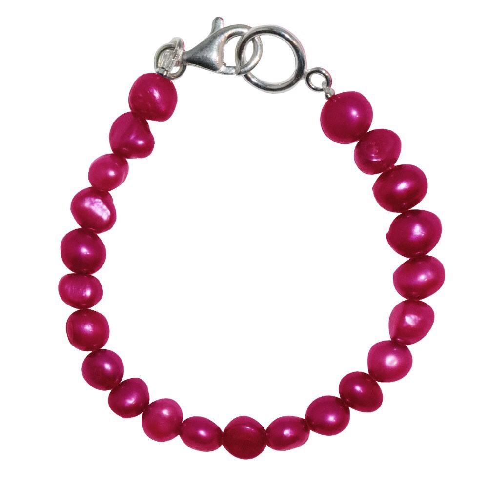 新品 SPARKING スパーキング red pearl bracelet レッド パール ブレスレット