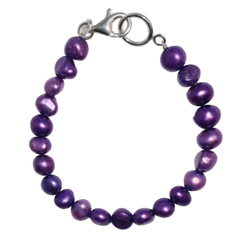 新品 SPARKING スパーキング lavendor pearl bracelet ラベンダー パール ブレスレット