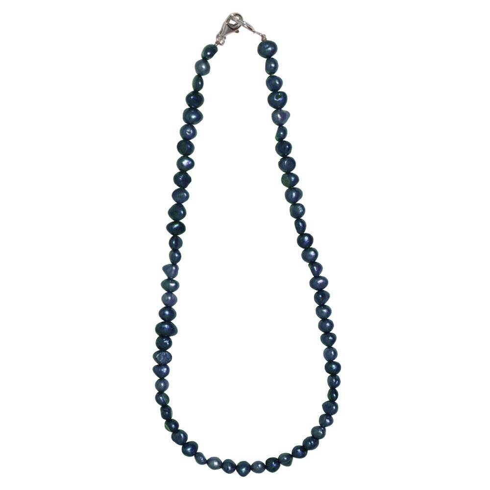 新品 SPARKING スパーキング dark green pearl necklace ダークグリーン パール ネックレス チェーン