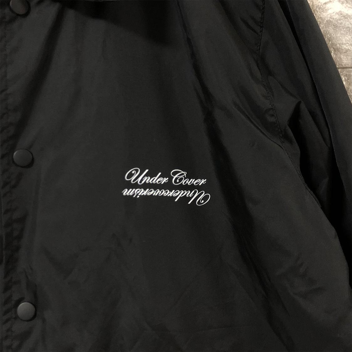 UNDERCOVER アンダーカバー コーチジャケット ナイロン Sサイズ ブラック