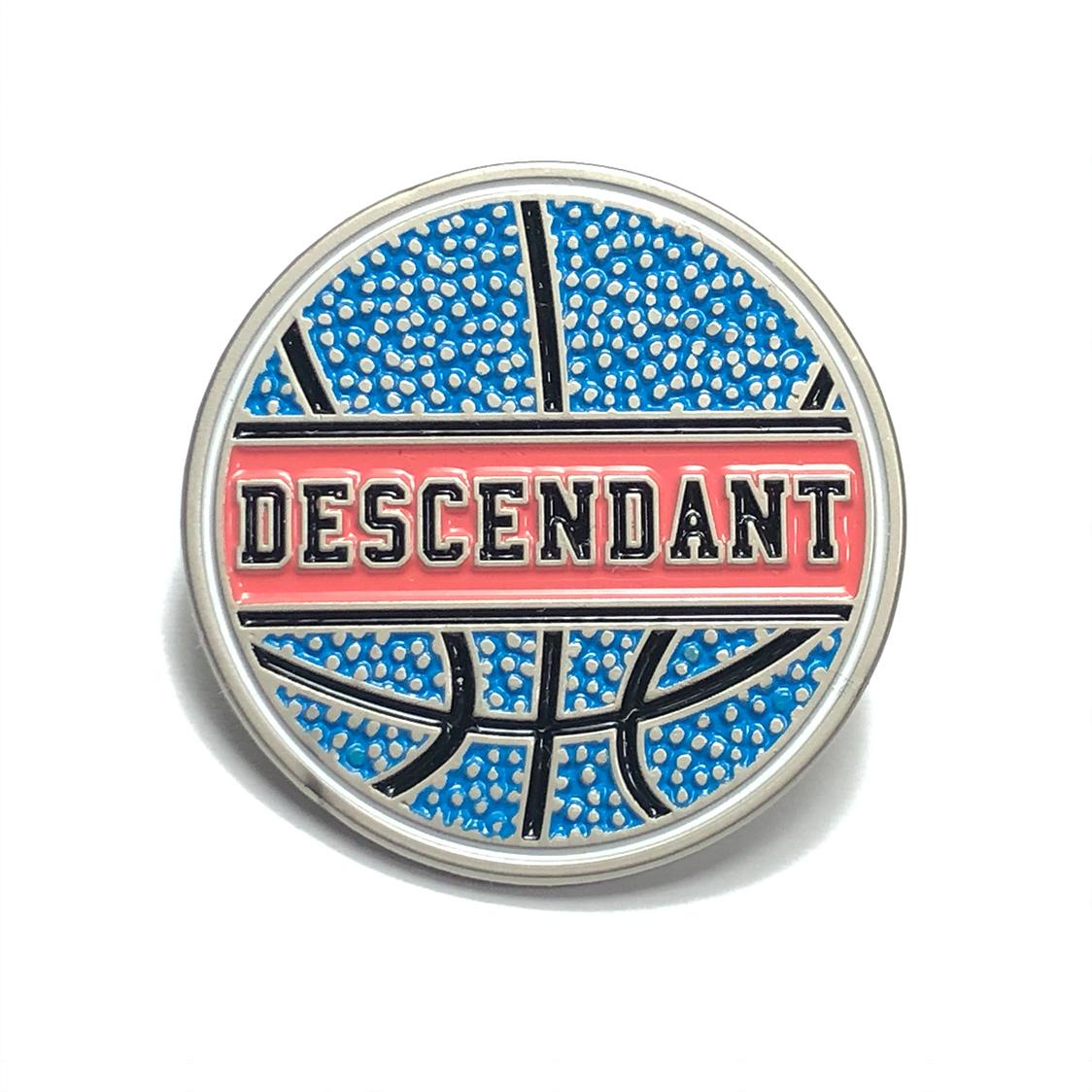 DESCENDANT ディセンダント バスケットボール ピンバッジ PINS / WTAPS ダブルタップス