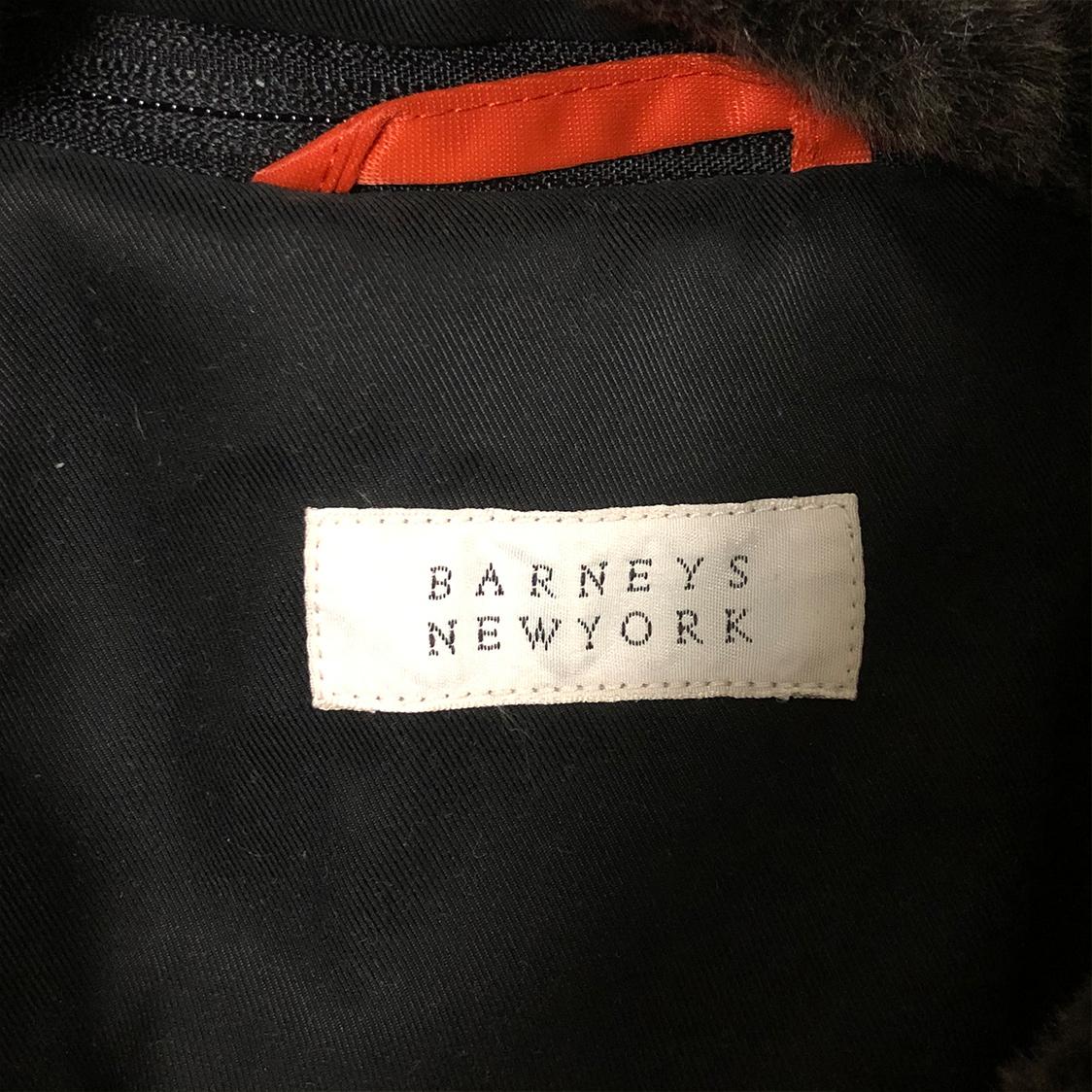 BARNEYS NEWYORK バーニーズニューヨーク 【Mサイズ】ボンバージャケット アウター ブルゾン ボア付き