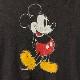 レア UNUSED アンユーズド × DISNEY ディズニー 【サイズ2】 ミッキーマウス パーカー フーディ USED加工 ブラック