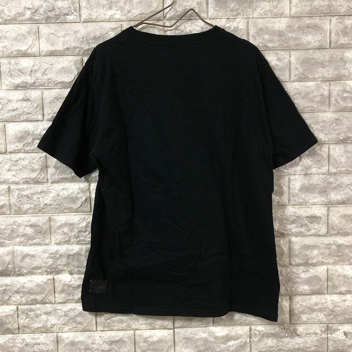 the POOL Aoyama ザ プール アオヤマ Tシャツ サイズM 半袖 カットソー ロゴ ブラック フラグメント 藤原ヒロシ