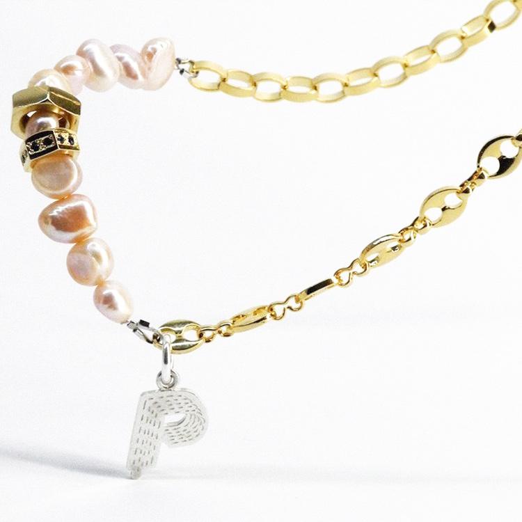 新品 SPARKING スパーキング × Philly フィリー NUT pearl necklace コラボレーション ナット パール ネックレス チェーン