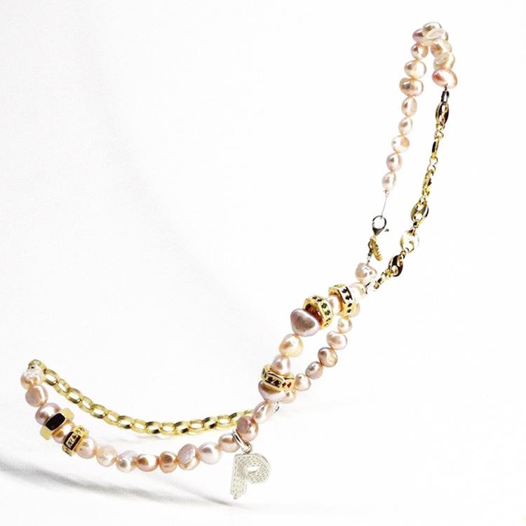 新品 SPARKING スパーキング × Philly フィリー NUT pearl necklace extra コラボレーション ナット パール ネックレス チェーン エクストラ