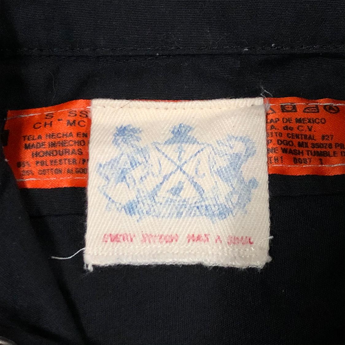 RED CAP レッドキャップ BEAMS ビームス【Sサイズ】 半袖 シャツ ブラック