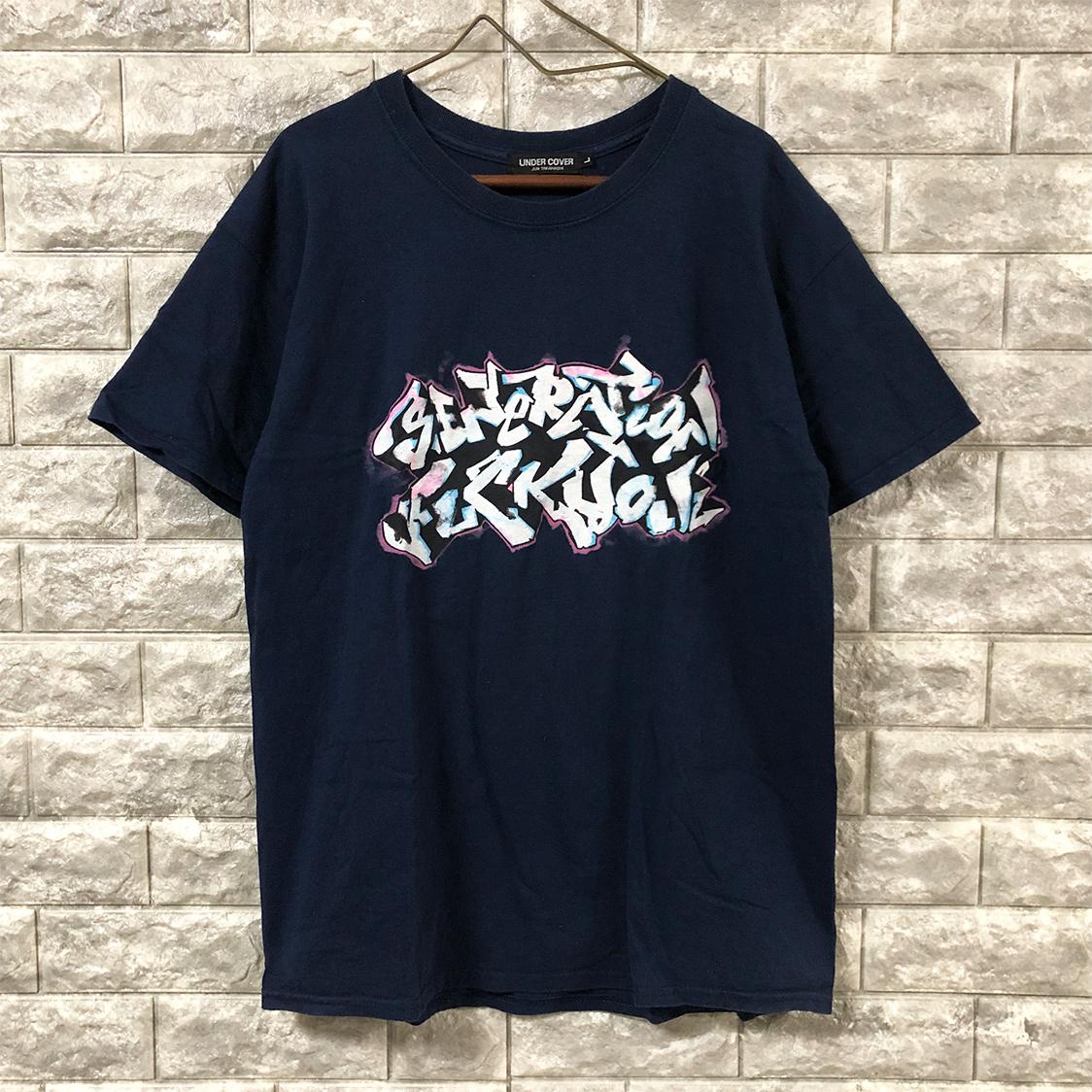 UNDERCOVER アンダーカバー 【Lサイズ】 Tシャツ カットソー ネイビー 半袖