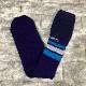 新品 FACETASM ファセッタズム 靴下 ハイソックス LOGO SOCKS ロゴ フリーサイズ メンズ パープル スカイブルー