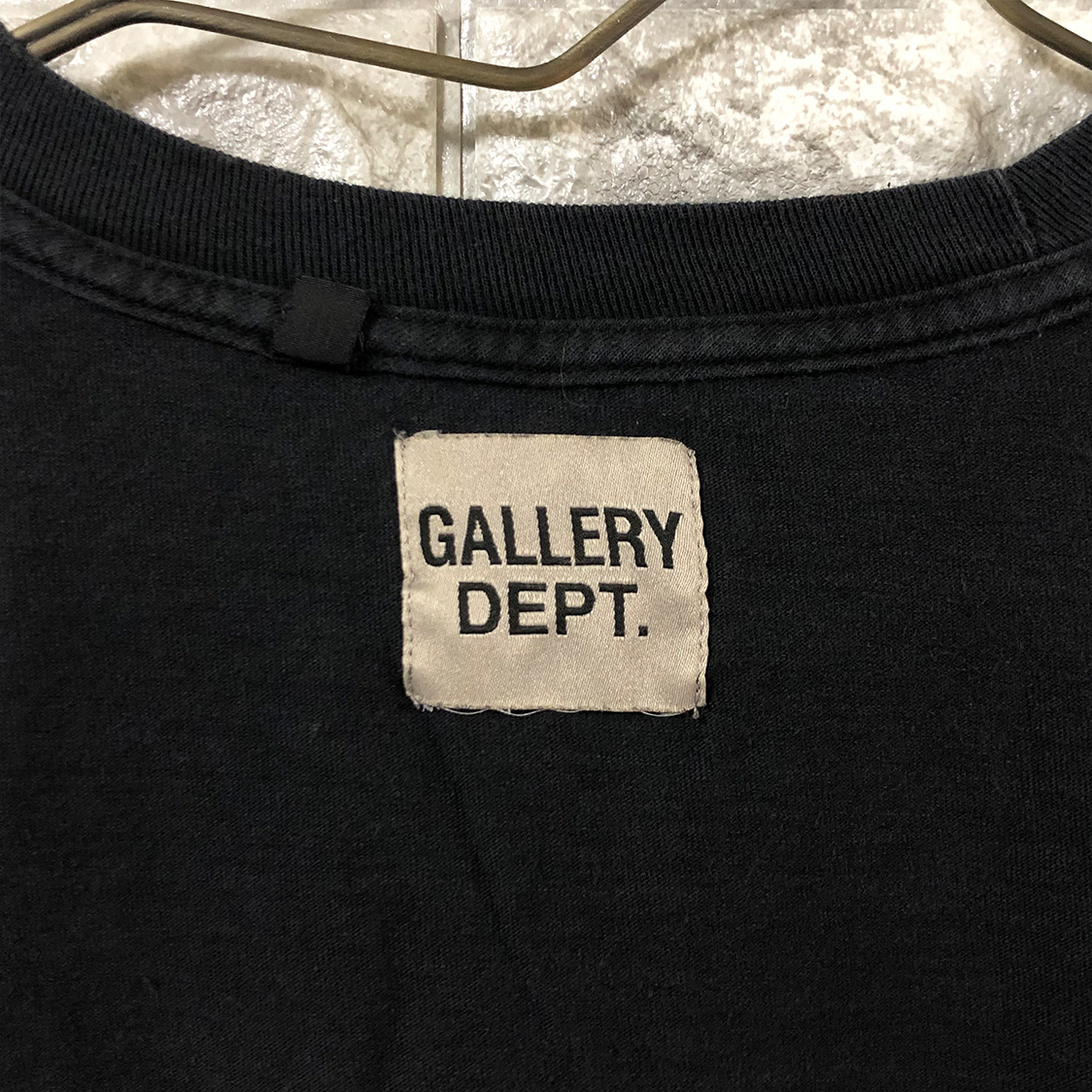新品 希少 GALLERY DEPT. ギャラリーデプト 【Lサイズ】 ロングTシャツ 長袖 ビッグシルエット ワイドシルエット ART THAT KILLS ロンT