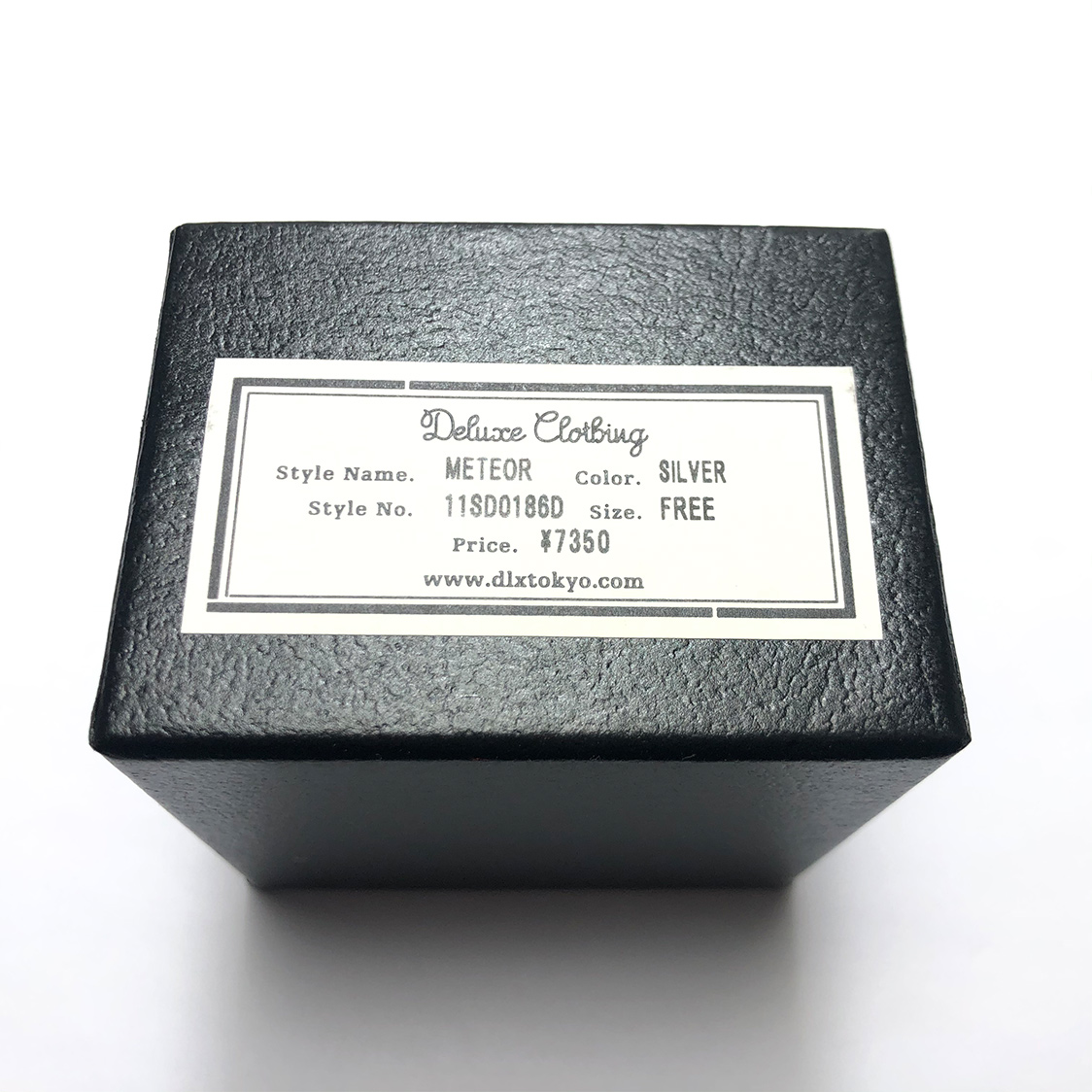 新品【定価7,350円】DELUXE CLOTHING デラックス クロージング METEOR シルバー ピアス 星型 スター / イヤリング