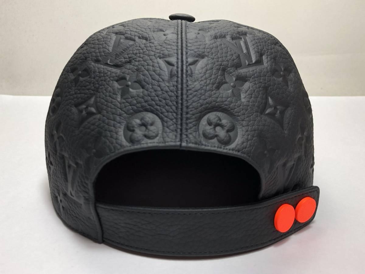 LOUIS VUITTON ルイヴィトン 19ss VIRGIL ABLOH ヴァージルアブロー キャスケット モノグラム クイル1.0 帽子 レザーキャップ MP2320