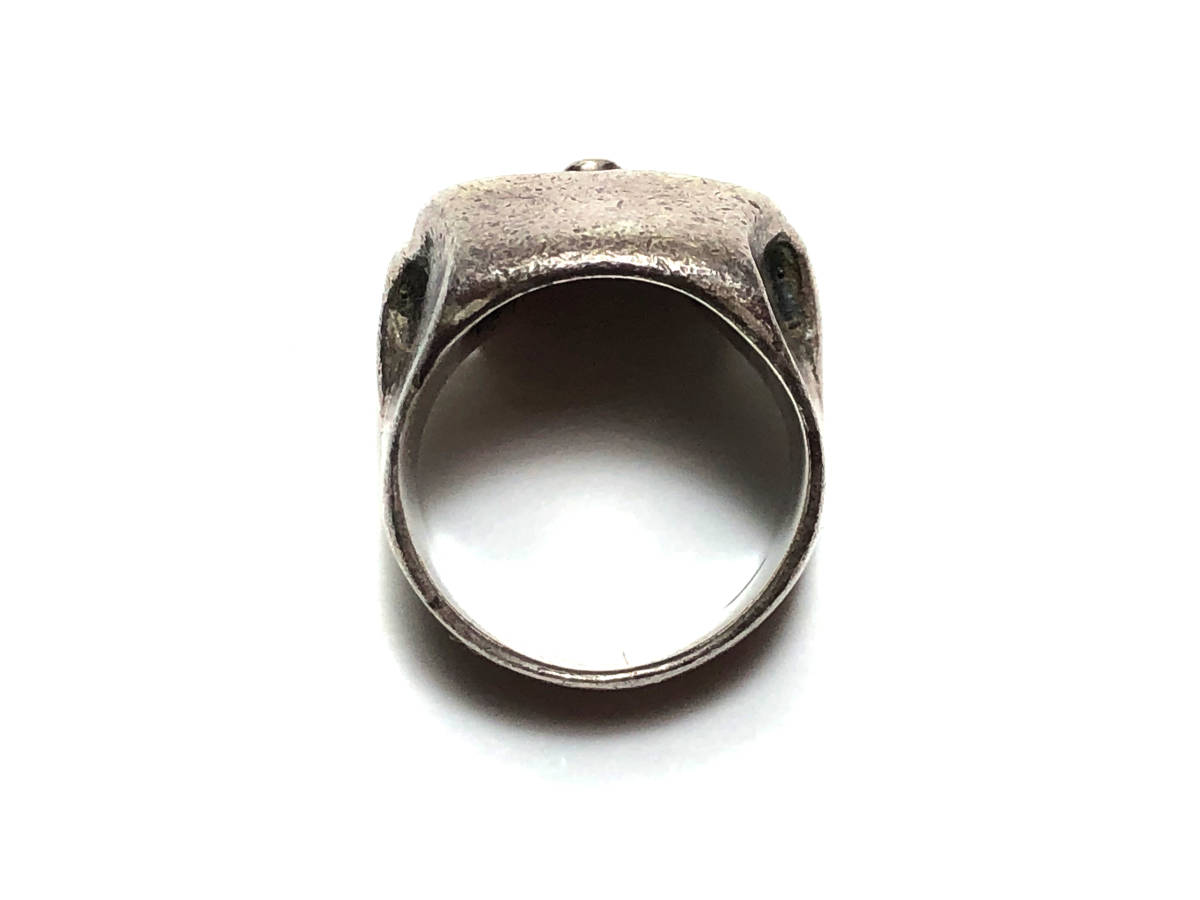 クレイジーピッグ CRAZY PIG CP20 LEMOLA SKULL RING レモラ スカルリング 16号 指輪 SV925 シルバー