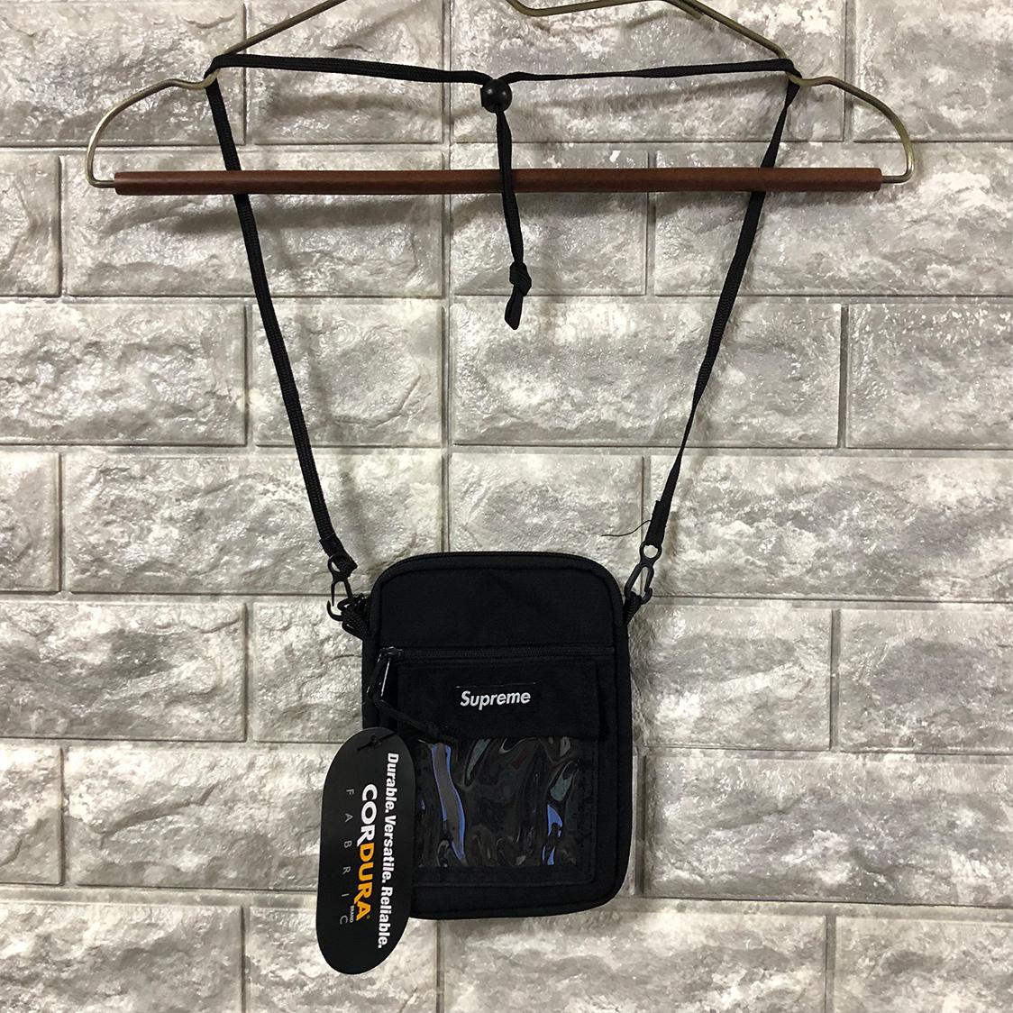 新品 supreme シュプリーム Utility Pouch Black ショルダー バッグ ポーチ タグ付き 黒 国内正規品