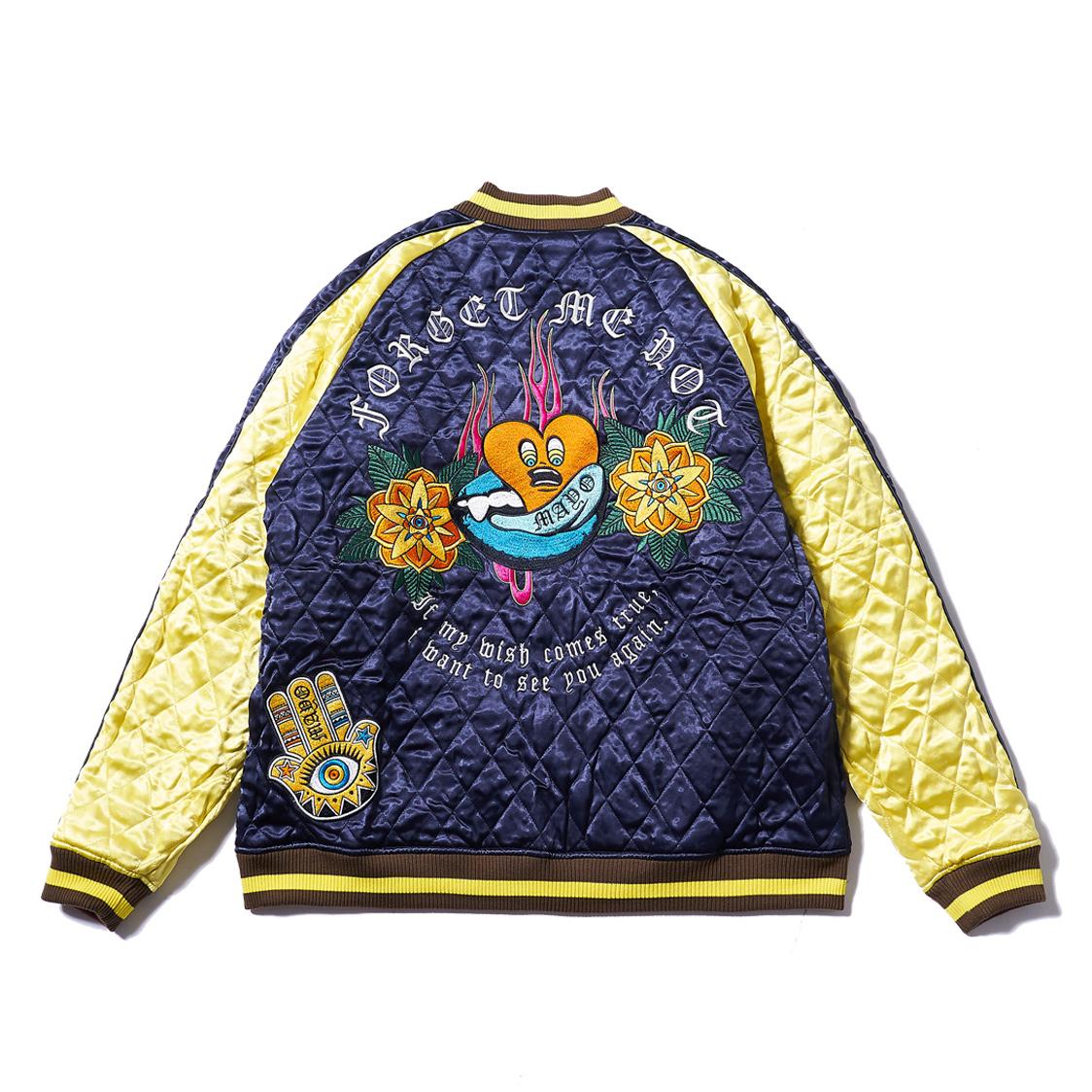新品 MAYO メイヨー forget me not reversible souvenir JKT リバーシブル スーベニアジャケット スカジャン