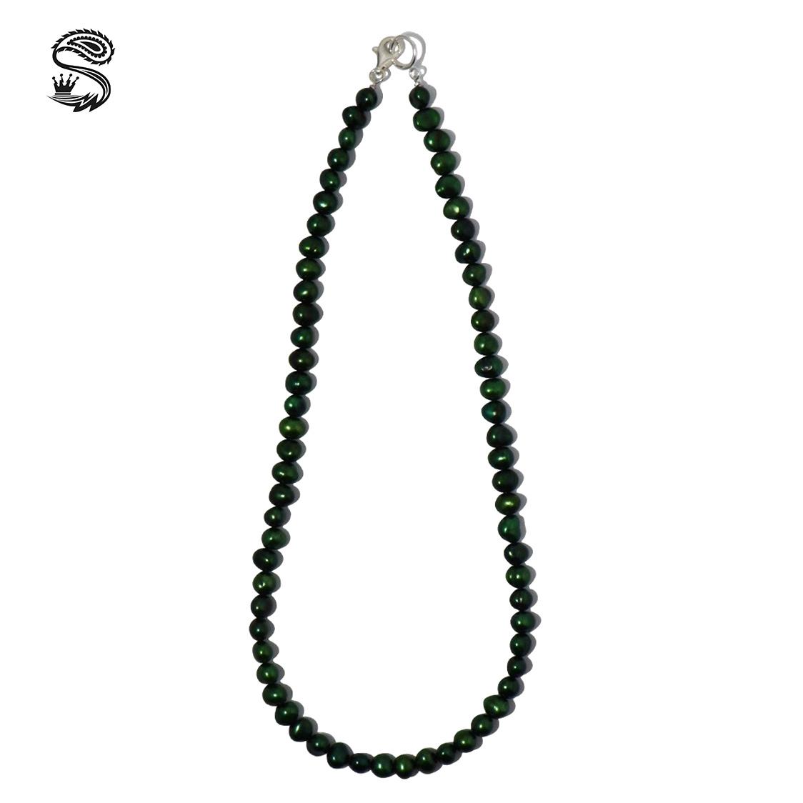 新品 SPARKING スパーキング green pearl necklace グリーンパール ネックレス チェーン