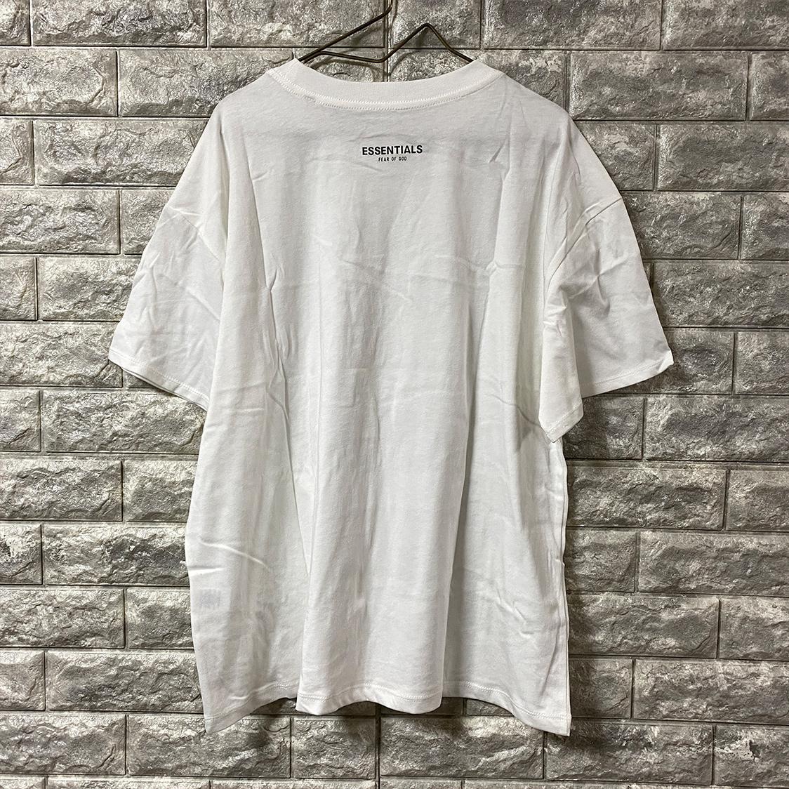正規品 FOG ESSENTIALS エフオージー エッセンシャルズ 【Mサイズ】 3 pack Tシャツ パックTシャツ fear of god PACSUN ホワイト 白