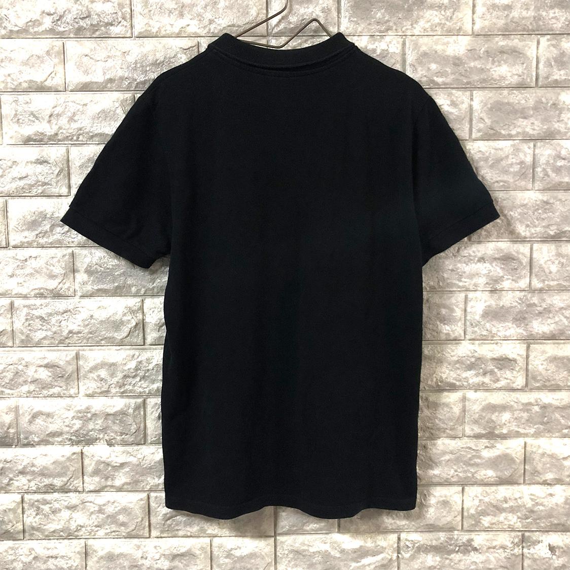 MAISON KITSUNE メゾン キツネ 【Mサイズ】 POLO ポロシャツ ブラック