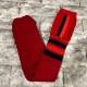 新品 FACETASM ファセッタズム 靴下 ハイソックス LOGO SOCKS ロゴ フリーサイズ メンズ レッド ブラック