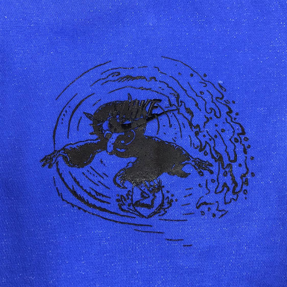 新品 国内未発売 ERL イーアールエル × NIKE Edition ナイキ 【Lサイズ】 Witch フーディ パーカー ブルー オーバーサイズ