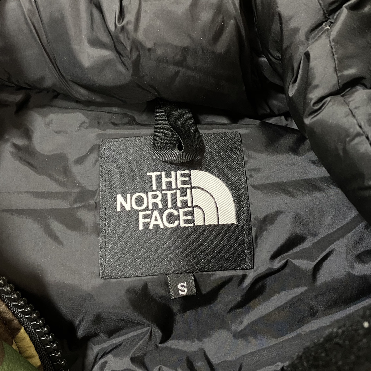THE NORTH FACE ザ ノースフェイス【Sサイズ】 バルトロ ダウンジャケット カモ柄 カモフラ 迷彩