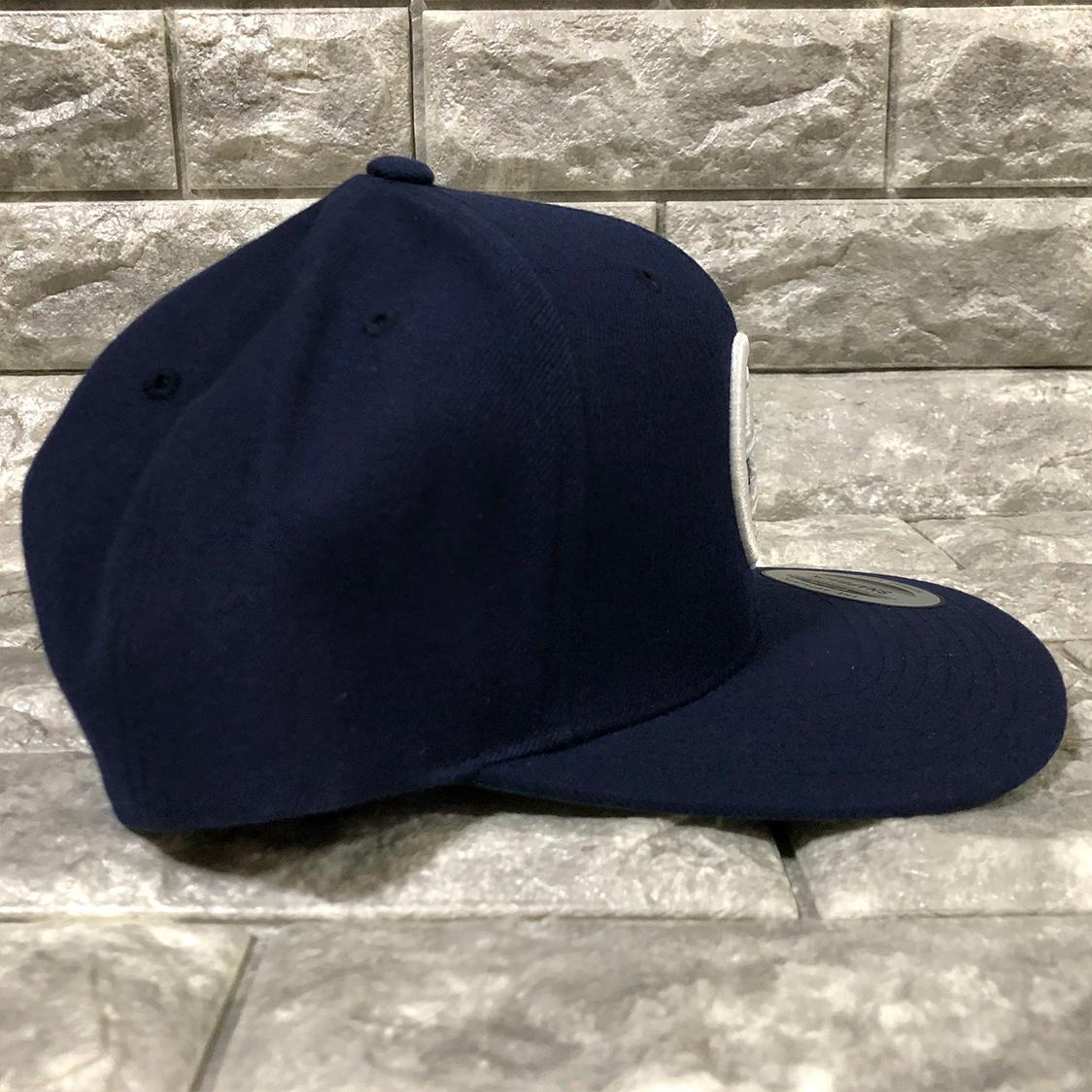 新品 八王子リホーム ロゴ ロー キャップ 帽子 ネイビー / リフォーム ヒロミ ジェシー SixTONE