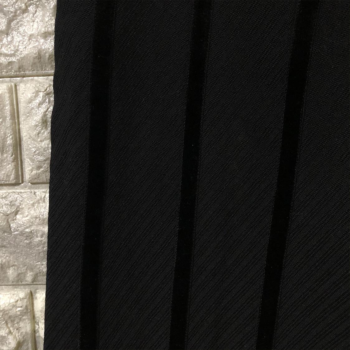 UNDERCOVERISM アンダーカバイズム 【Mサイズ】 ベロアライン入り スラックス アンダーカバー ブラック