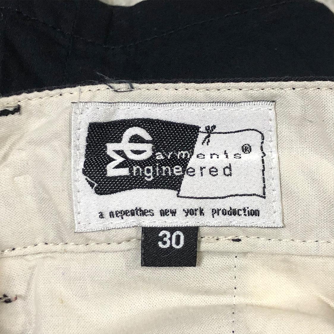 ENGINEERED GARMENTS エンジニアドガーメンツ 【サイズ30】 ショーツ ネイビー ハーフパンツ ショートパンツ