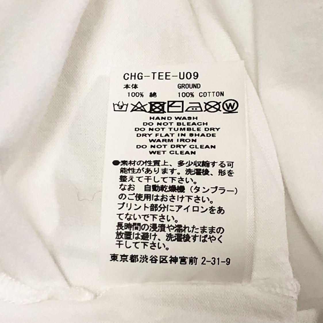 新品 FACETASM ファセッタズム 【サイズ5】 Tシャツ カットソー 白 ホワイト
