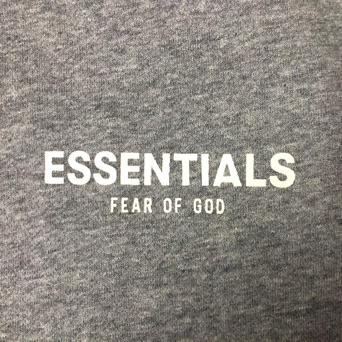 正規品 FOG ESSENTIALS フォグ エッセンシャルズ【Mサイズ】 スウェット グレー fear of god エフオージー