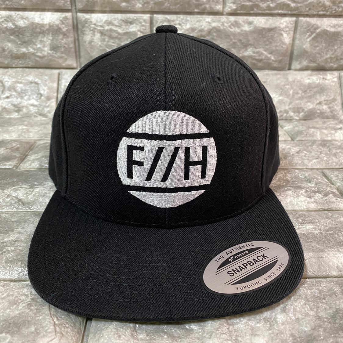 新品 八王子リホーム F//H ロゴ ロー キャップ 帽子 ブラック / リフォーム ヒロミ ジェシー SixTONE