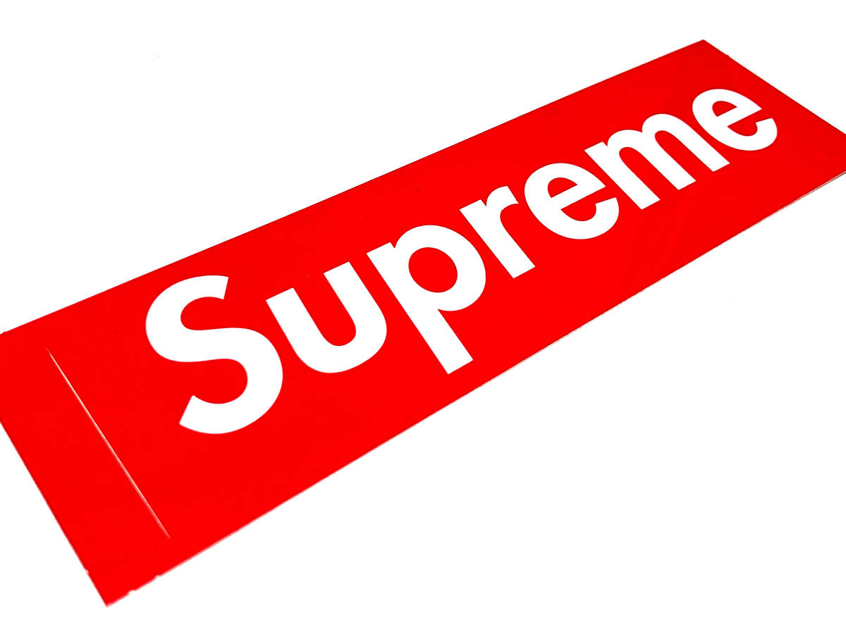 Supreme シュプリーム ボックスロゴ ステッカー box logo シール 【送料無料】
