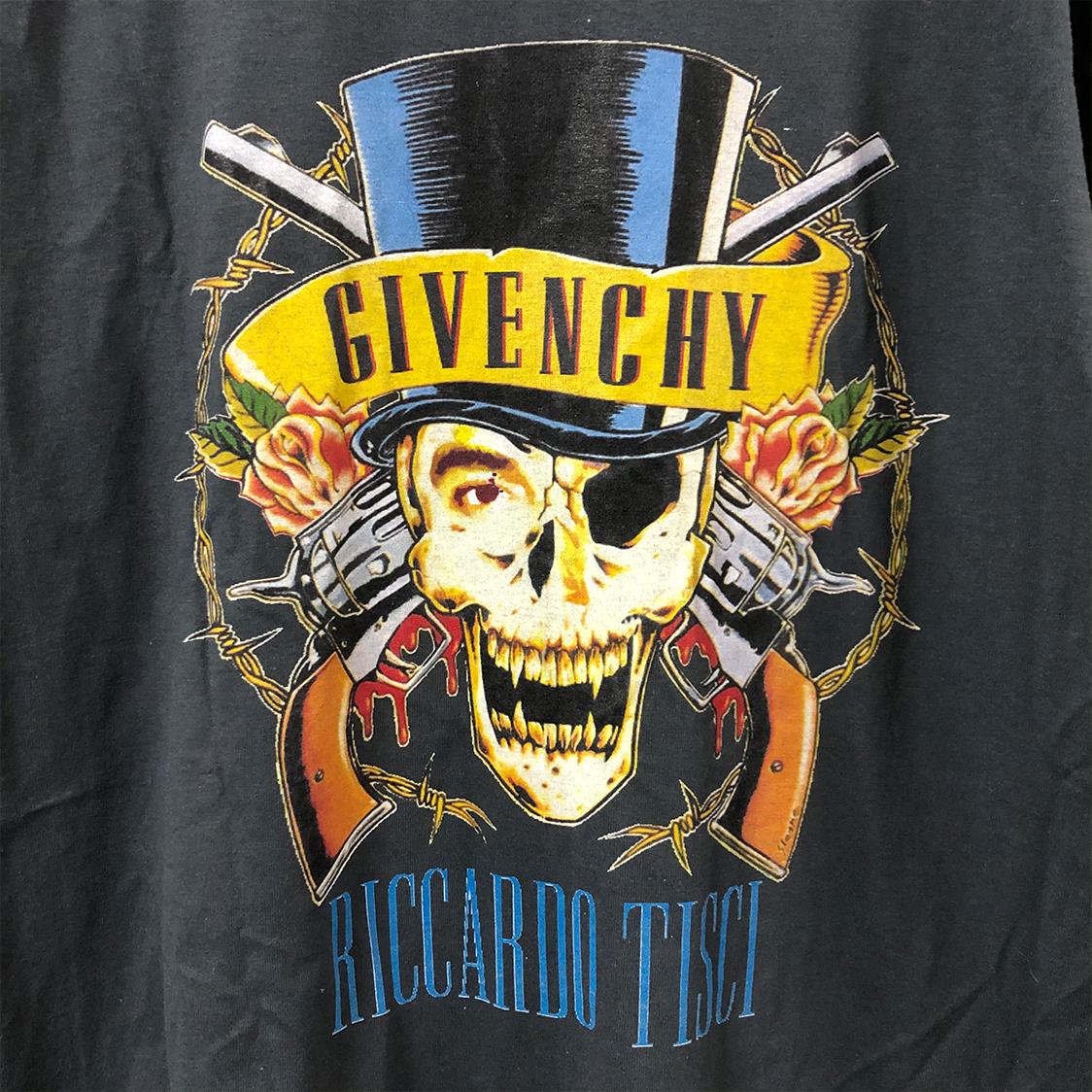 BLEACH ブリーチ 【Lサイズ】 パロディ Tシャツ バンドtee バックプリント GIVENCHY グレー RICCARDO TISCI