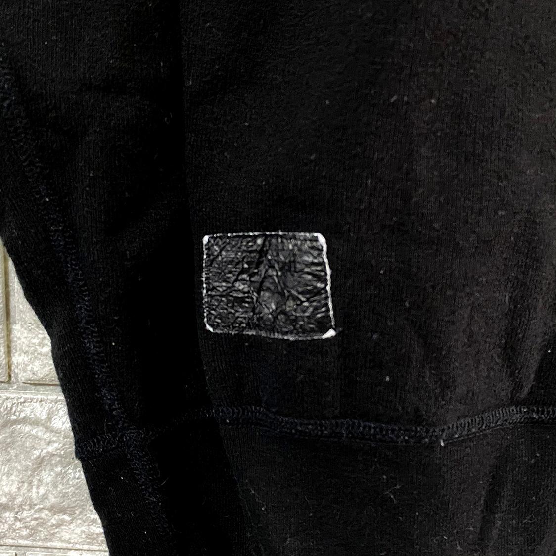 レア THE POOL AOYAMA ザ プール アオヤマ【Sサイズ】プルオーバー パーカー フーディ ブラック 藤原ヒロシ zip up