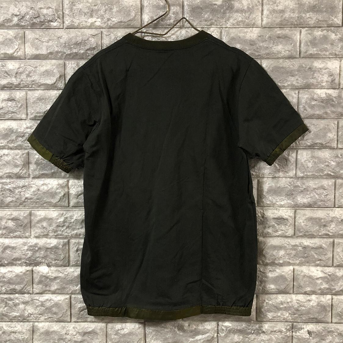 UNITED TOKYO ユナイテッドトーキョー 【サイズ2】 リブ付き ポケット Tシャツ カーキ