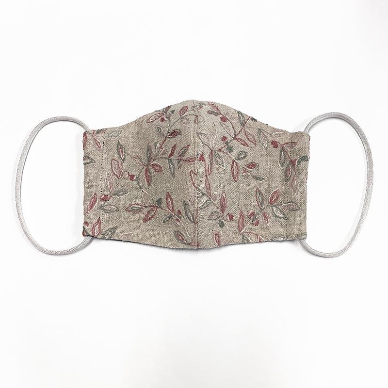 web20201205-02 手作りマスクにもおすすめ ボタニカル柄色違い10cm(プレゼント付き)
