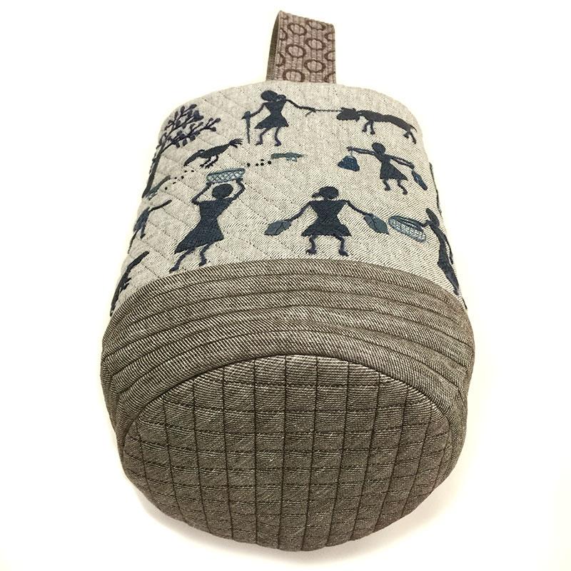 アップリケのバッグ(作り方・接着芯なし)すてきにハンドメイド2021年2月号掲載