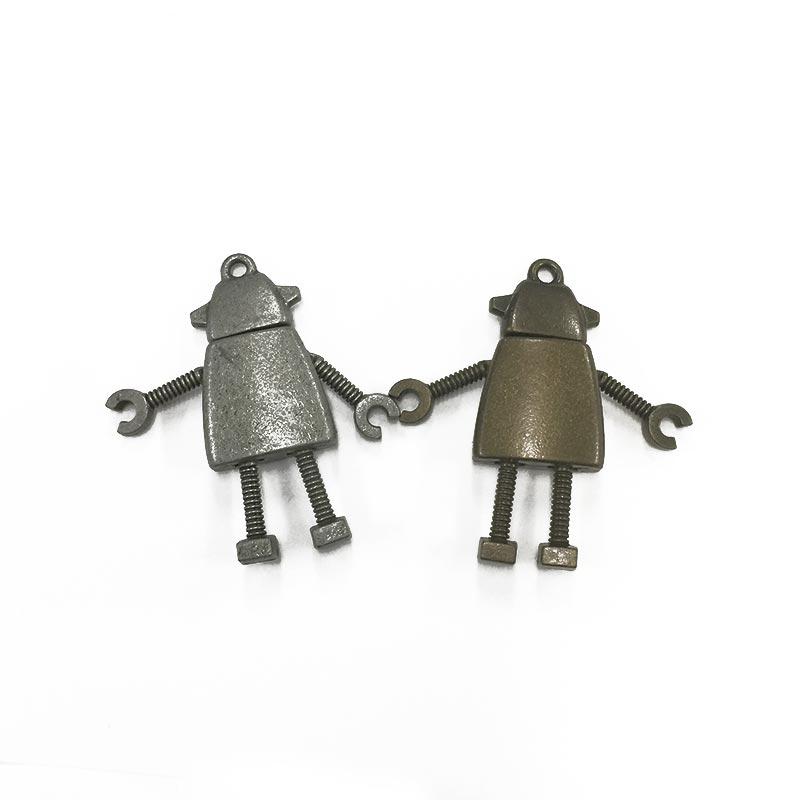 ロボット2号チャーム(クローバー)