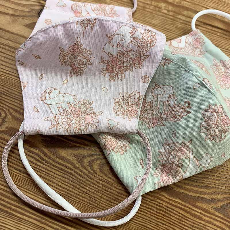 web20210325-01 手作りマスクにもおすすめ【アルプスの少女ハイジ】ローズブーケ 10cm(プレゼント付き)
